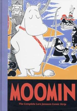 Moomin Book Seven:  The Complete Tove Jansson Comic Strip de Lars Jansson