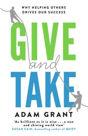 Give and Take de Adam Grant