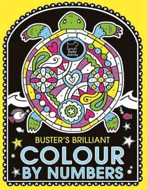 Buster's Brilliant Colour By Numbers imagine