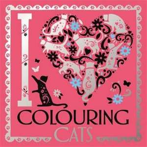 I Heart Colouring Cats de Lizzie Preston