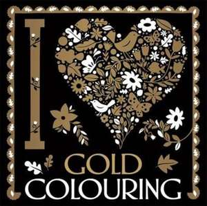 I Heart Gold Colouring