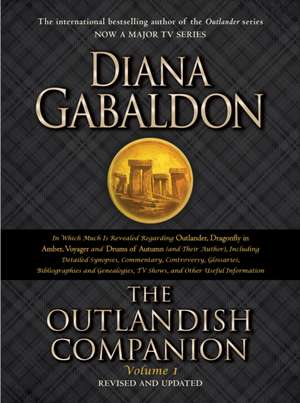 Gabaldon, D: The Outlandish Companion Volume 1 de Diana Gabaldon
