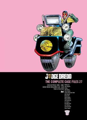 Judge Dredd Casefiles 27