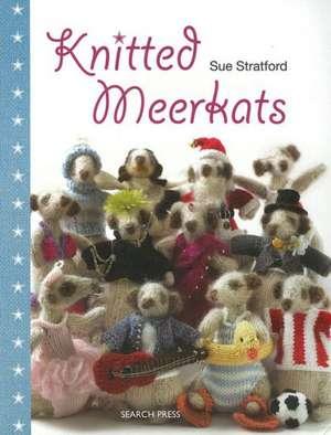 Knitted Meerkats de Sue Stratford