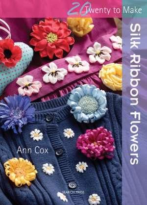 Silk Ribbon Flowers de Ann Cox