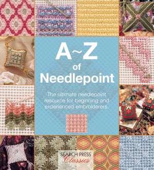 A-Z of Needlepoint de Country Bumpkin