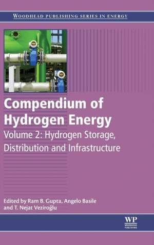 Compendium of Hydrogen Energy: Hydrogen Storage, Distribution and Infrastructure de Ram Gupta