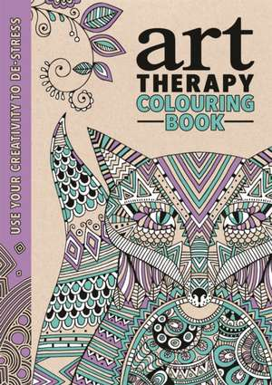 Art Therapy Colouring Book de Richard Merritt