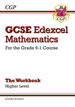 New GCSE Maths Edexcel Workbook: Higher - For the Grade 9-1Course (Includes Answers) de CGP Books