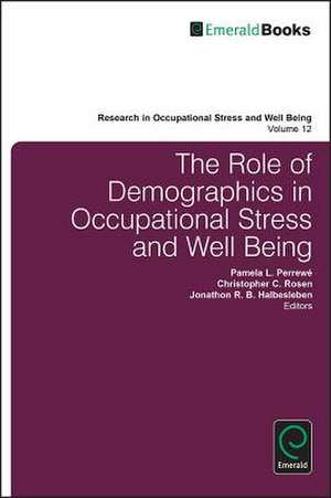 The Role of Demographics in Occupational Stress and Well Being