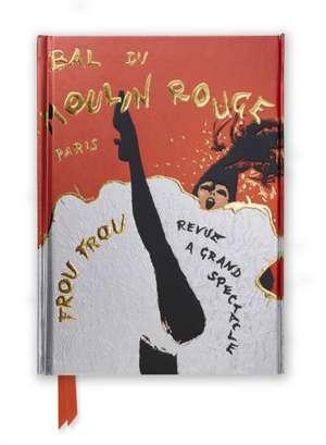 René Gruau: Bal du Moulin Rouge (Foiled Journal) de Flame Tree Studio