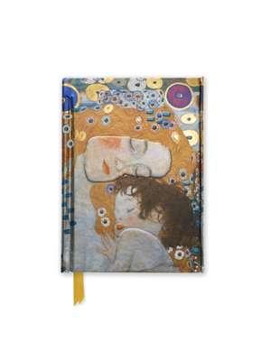 Gustav Klimt: Three Ages of Woman (Foiled Pocket Journal) de Flame Tree Studio