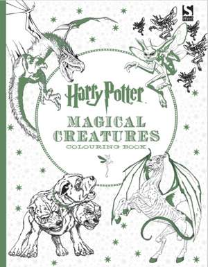 Harry Potter Magical Creatures Colouring Book de  Warner Brothers