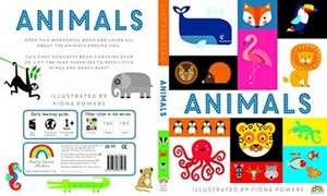 LIFT THE FLAP ANIMALS de Fiona Powers