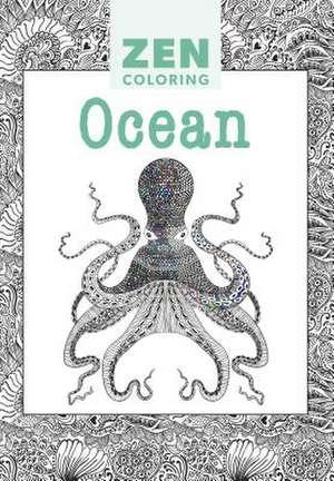 Zen Coloring:  Ocean de GMC