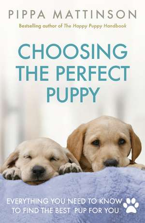 Choosing the Perfect Puppy de Pippa Mattinson
