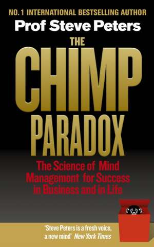 The Chimp Paradox de Prof Steve Peters