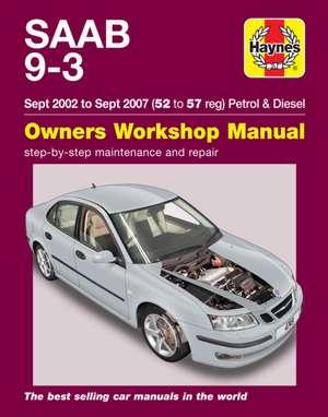 Saab 9-3 Service And Repair Manual de  Haynes Publishing