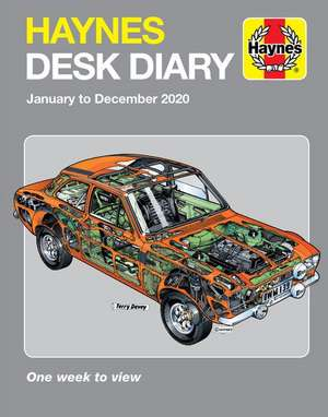 Haynes 2020 Desk Diary: January to December 2020. One Week to View. de  Haynes Publishing