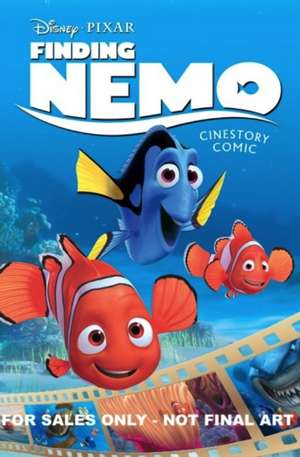 Disney Pixar Finding Nemo Cinestory Comic