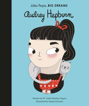 Audrey Hepburn de Isabel Sanchez Vegara