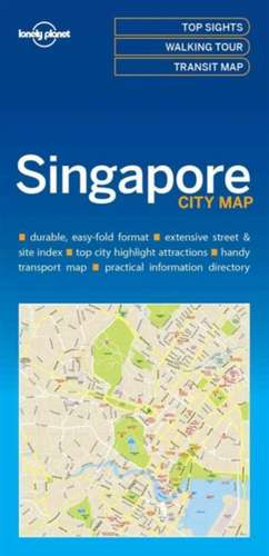 Lonely Planet Singaporecity Map de Lonely Planet