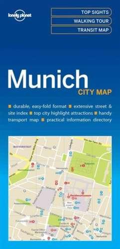 Lonely Planet Munich City Map de Lonely Planet