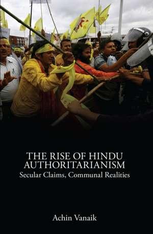 The Rise of Hindu Authoritarianism imagine