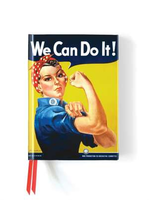 We Can Do It! Poster (Foiled Journal) de Flame Tree Studio