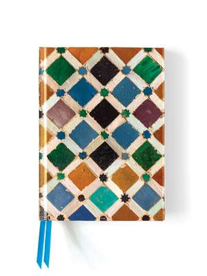 Alhambra Tile (Foiled Journal) de Flame Tree Studio