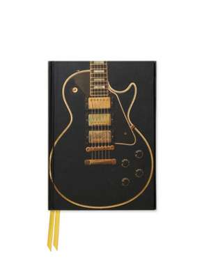 Gibson Les Paul Deluxe (Foiled Pocket Journal) de Flame Tree Studio