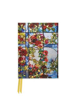 Tiffany: Trellised Rambler Roses (Foiled Pocket Journal) de Flame Tree Studio