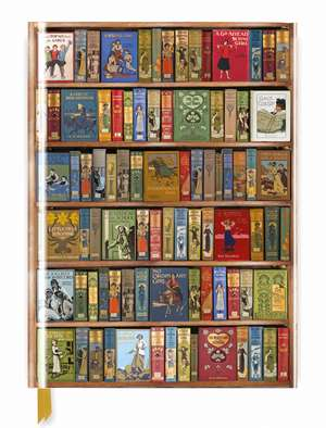 Bodleian Library: High Jinks Bookshelves (Blank Sketch Book) de Flame Tree Studio