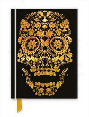 Gold Sugar Skull (Foiled Journal) de Flame Tree Studio
