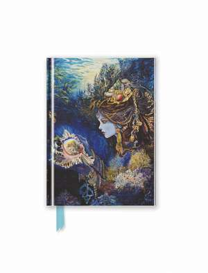 Josephine Wall: Daughter of the Deep (Foiled Pocket Journal) de Flame Tree Studio