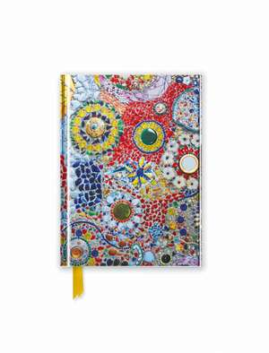 Gaudi (inspired by): Mosaic (Foiled Pocket Journal) de Flame Tree Studio