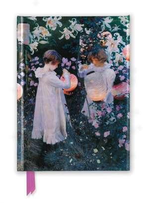 John Singer Sargent: Carnation, Lily, Lily, Rose (Foiled Journal) de Flame Tree Studio