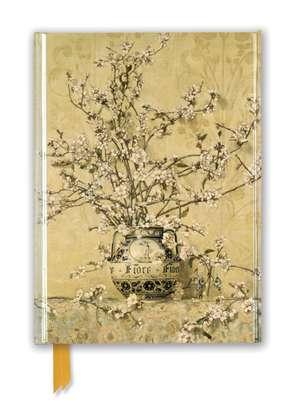 Charles Coleman: Apple Blossoms (Foiled Journal) de Flame Tree Studio