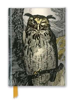 Grimm's Fairy Tales: Winking Owl (Foiled Journal) de Flame Tree Studio