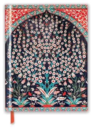 Turkish Wall Tiles (Blank Sketch Book) de Flame Tree Studio