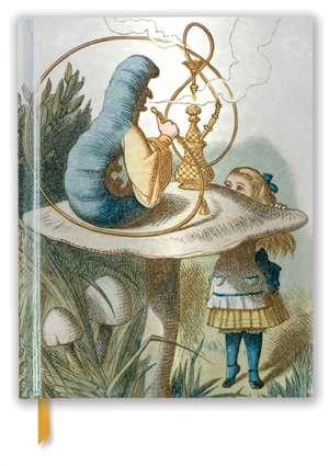 British Library Tenniel: Alice (Blank Sketch Book) de Flame Tree Studio