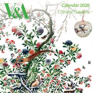 V&A - Chinese Gardens Wall Calendar 2020 (Art Calendar) de Flame Tree Studio