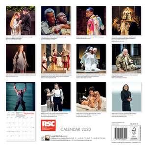 Royal Shakespeare Company - The Tragedies Wall Calendar 2020 (Art Calendar) de Flame Tree Studio