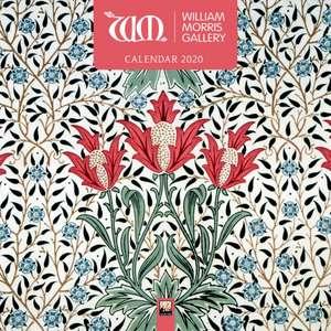 William Morris Gallery Wall Calendar 2020 (Art Calendar) de Flame Tree Studio