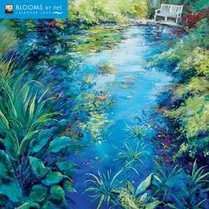 Blooms by Nel Whatmore Wall Calendar 2020 (Art Calendar) de Flame Tree Studio