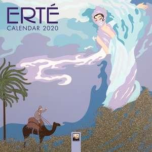 Erte - Mini Wall calendar 2020 (Art Calendar) de Flame Tree Studio