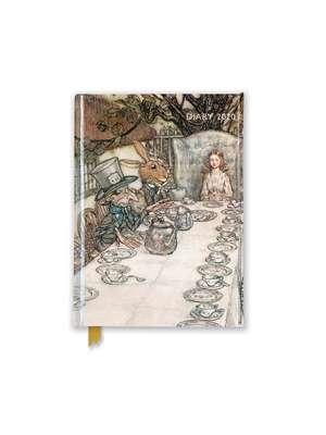 Arthur Rackham: Alice at the Tea Party Pocket Diary 2020 de Flame Tree Studio