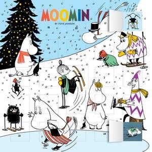 Moomin – Snowy Advent Calendar (with stickers) de Flame Tree Studio