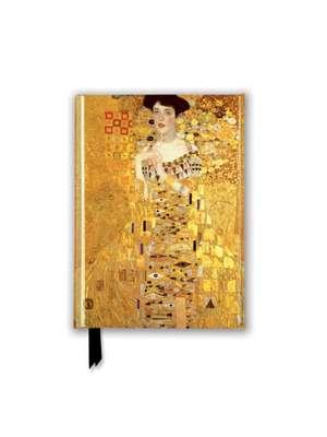 Gustav Klimt: Adele Bloch Bauer I (Foiled Pocket Journal) de Flame Tree Studio