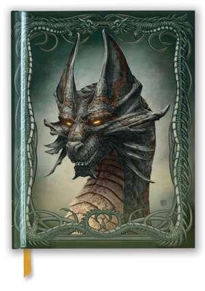 Kerem Beyit: Black Dragon (Blank Sketch Book) de Flame Tree Studio